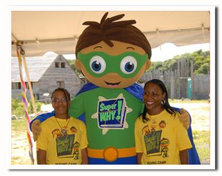Superwhy reading camp