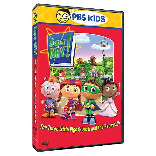 Superwhy dvd