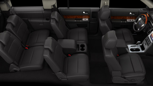 Ford flex headrests