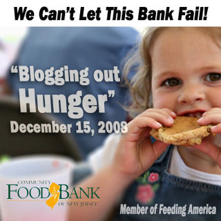 Blogging out hunger