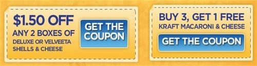 Kraft mac and cheese coupons