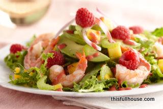 RS_Side_Raspberry Shrimp Avacado Salad up close_2009.010101