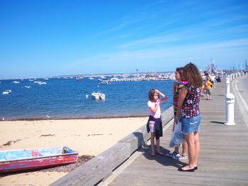 Provincetown Harbor Boardwalk
