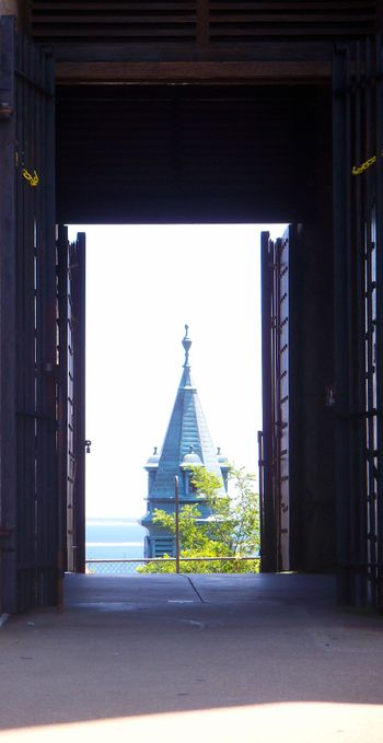 Into the Provincetown tower