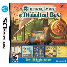 Professor layton and his diabolical box