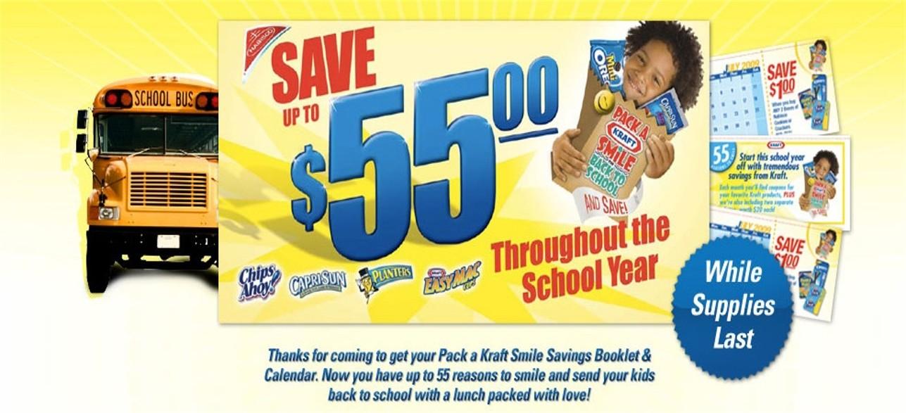 Kraft Savings Booklet