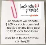 Lunch note sticky sidebar 150