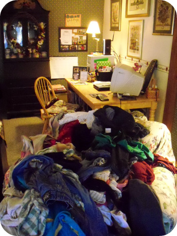 Can't See the Clean Desk from the Laundry!