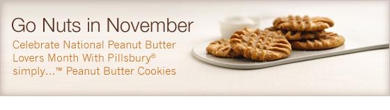 Pillsbury peanut butter cookies