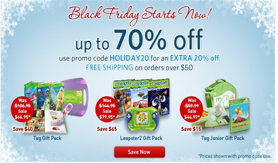 Leapfrog black friday