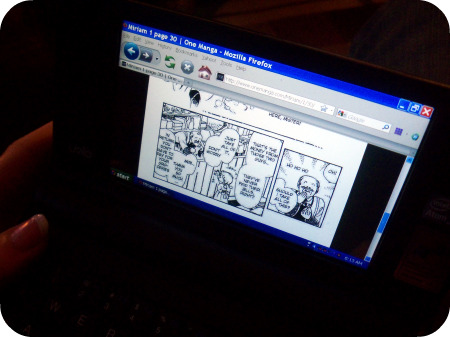 Mbook and manga