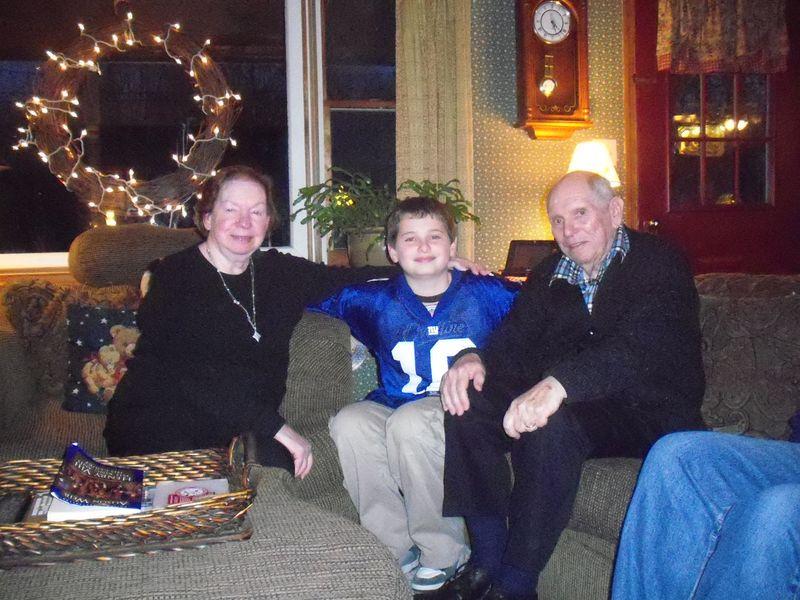 Grandma and Grandpa Thompson