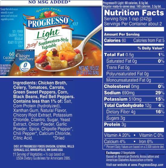 Progresso Light, 100 Calorie Soups