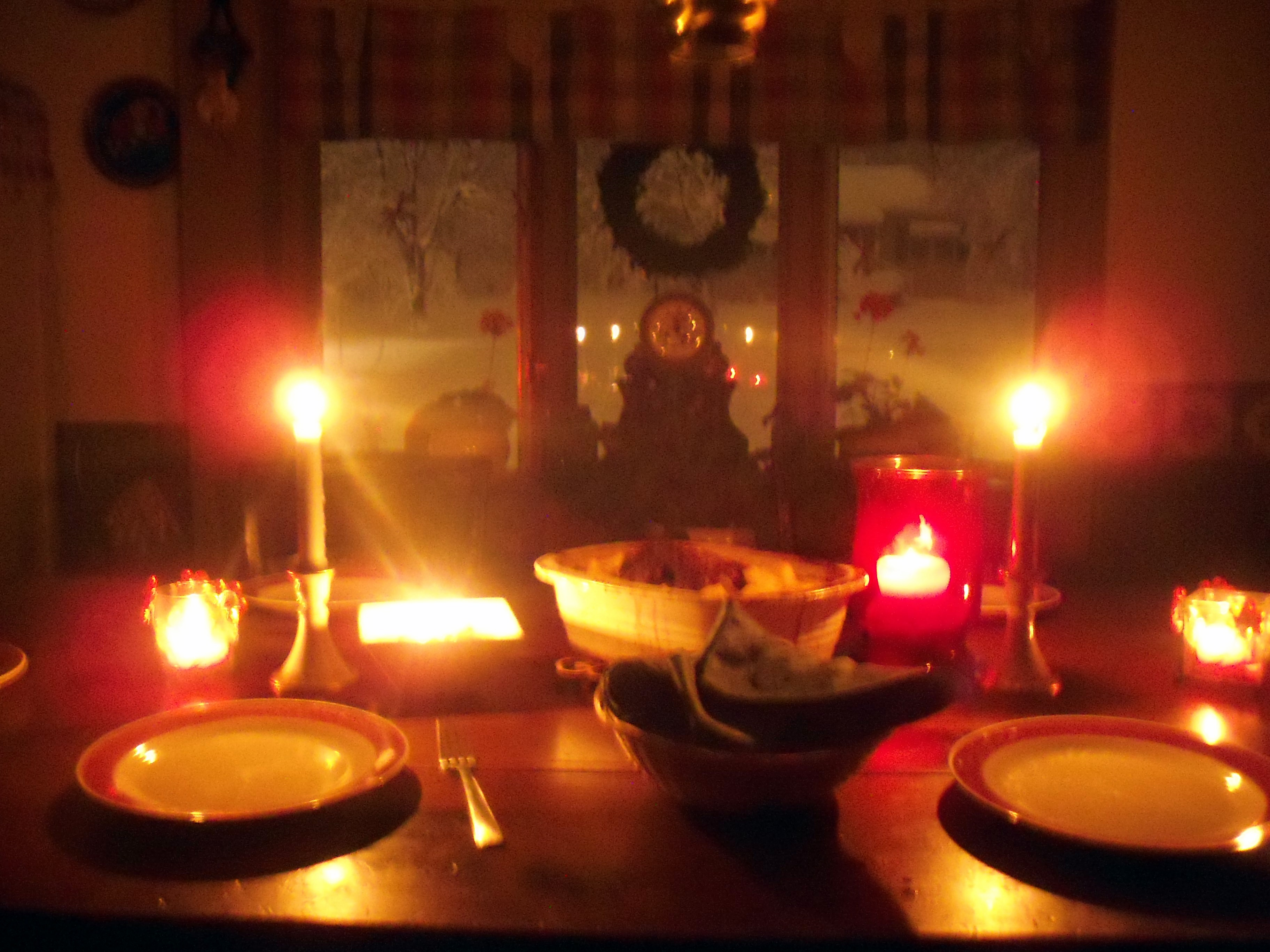 Candlelit and Blizzardid