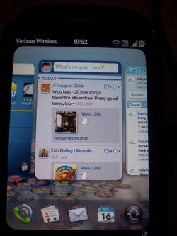 Palm Pre Plus Multiple Screens