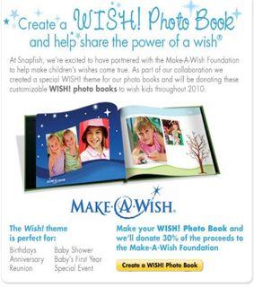 Make a wish book