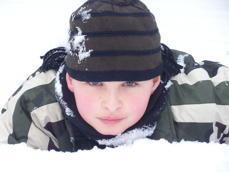Glen and 1st snow '09