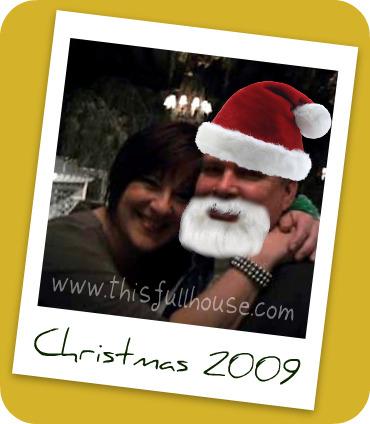 Liz & Garth [not his real name] Christmas '09