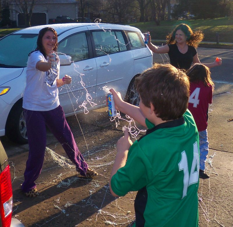 Silly String is a Wonderful Thing