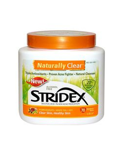 Stridex Naturally Clear Acne Pads