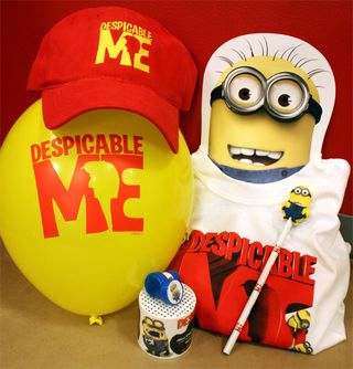 Despicable me prize pack