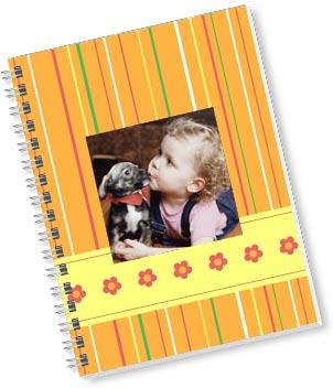 Snapfish personalized notebook