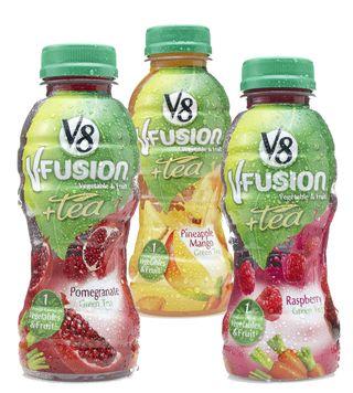 V8 v Fuison + tea 12OunceBottles
