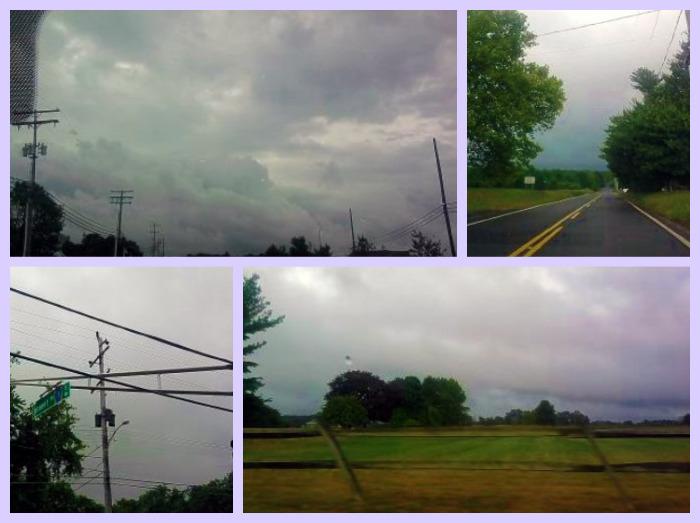Sundays in My City Stormy Skies
