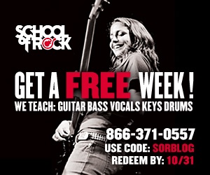 School of rock free week coupon code