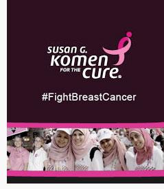Susan g komen #fightbreastcancer