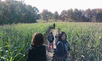 TFH Kids Corn Maze 2010