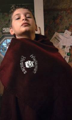 Glen and Adirondack Fleece Blanket