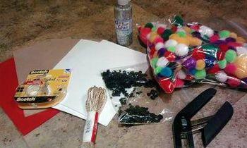 Reindeer ornament supplies
