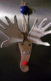 Reindeer ornament complete