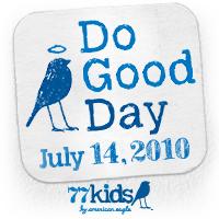 77kids Do Good Day Badge