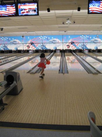 Bowling for tutus