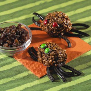 Spooky spider recipe