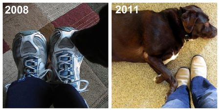 Sneakers Before and After