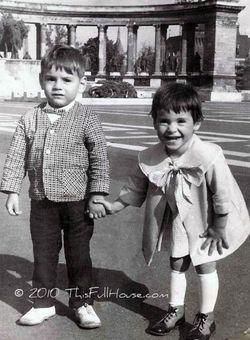 Me and Steve Hungary 1966