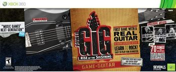 Power Gig Rise of the SixString for Xbox