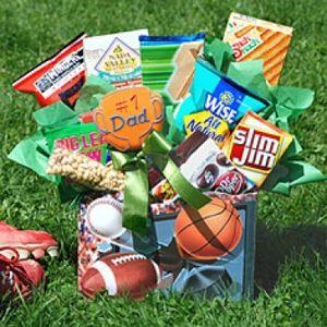 Sports Fan Gift Basket