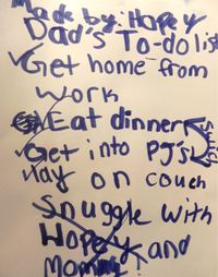 Dad's To Do List