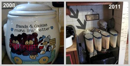 Cookie Jar Before and After