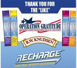 Recharge with operation gratitude