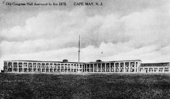 Congress Hall in 1870s