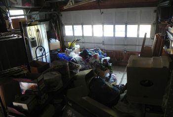 Bagster Bag Blogger Challenge - Front of Garage