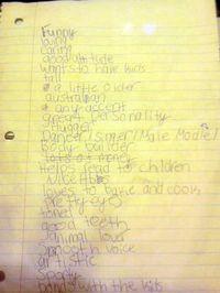 Husband Wish List