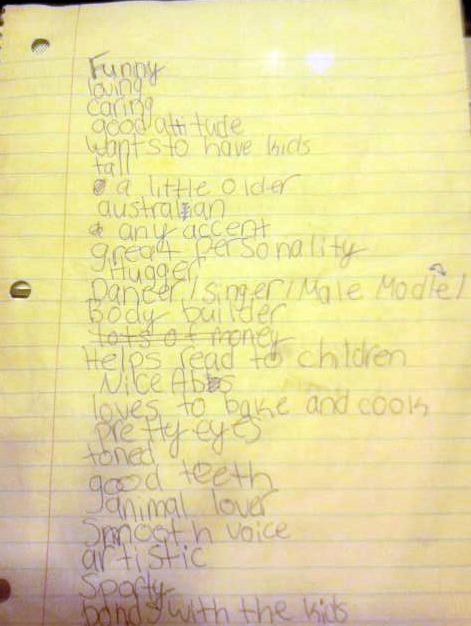 Husband list