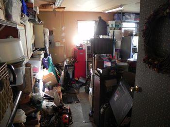 Bagster Bag Blogger Challenge - Opening the Garage Door