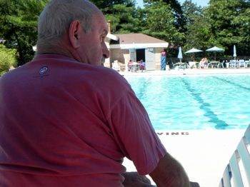 Dad the Pool Monitor